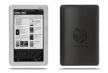 Lector de libros electrónicos de Barnes & Noble