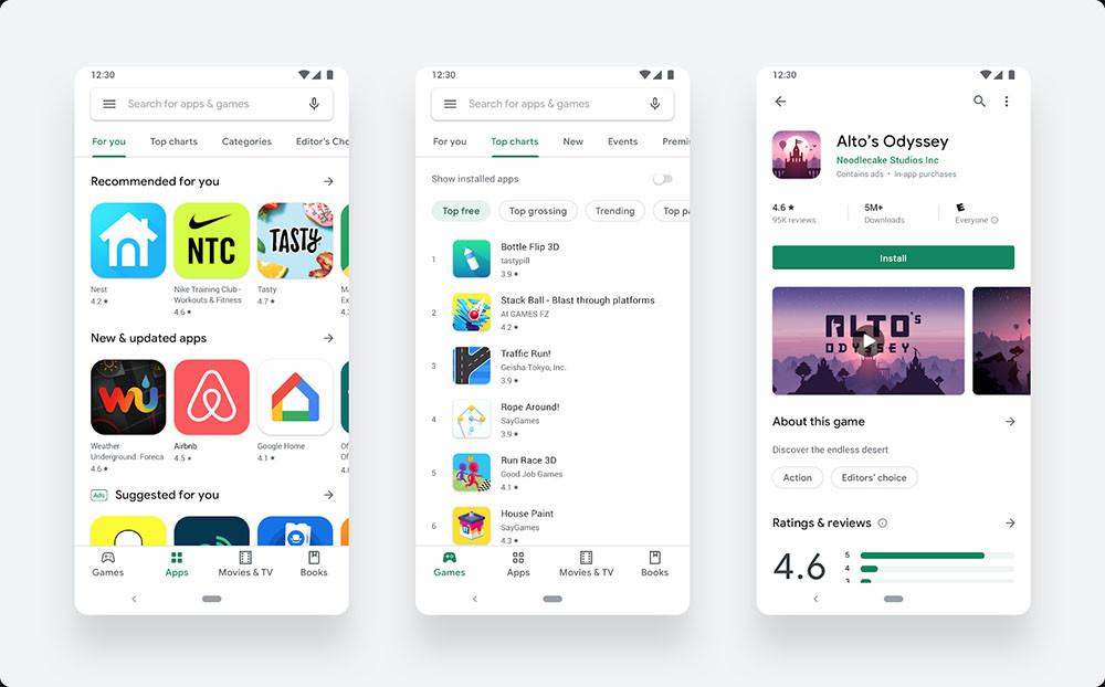 El actualizado Google® Play Store viene a íntegramente el mundo: de este modo es su mas reciente interfaz