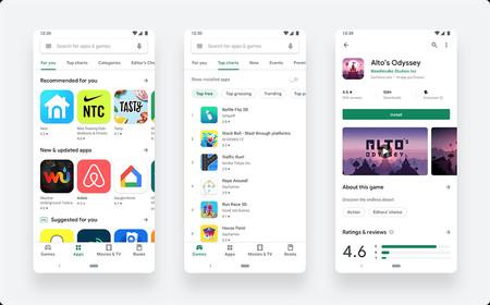 El renovado Google Play Store llega a todo el mundo: así es su nueva interfaz