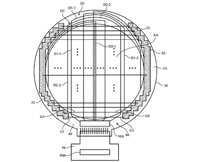 Patente Apple™ Pantalla Redonda