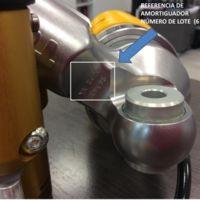 Öhlins advierte de defectos en algunos lotes de amortiguadores TTX36