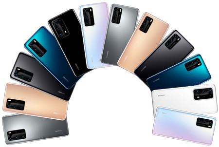 Huawei P40 Pro Pe Renders Colores