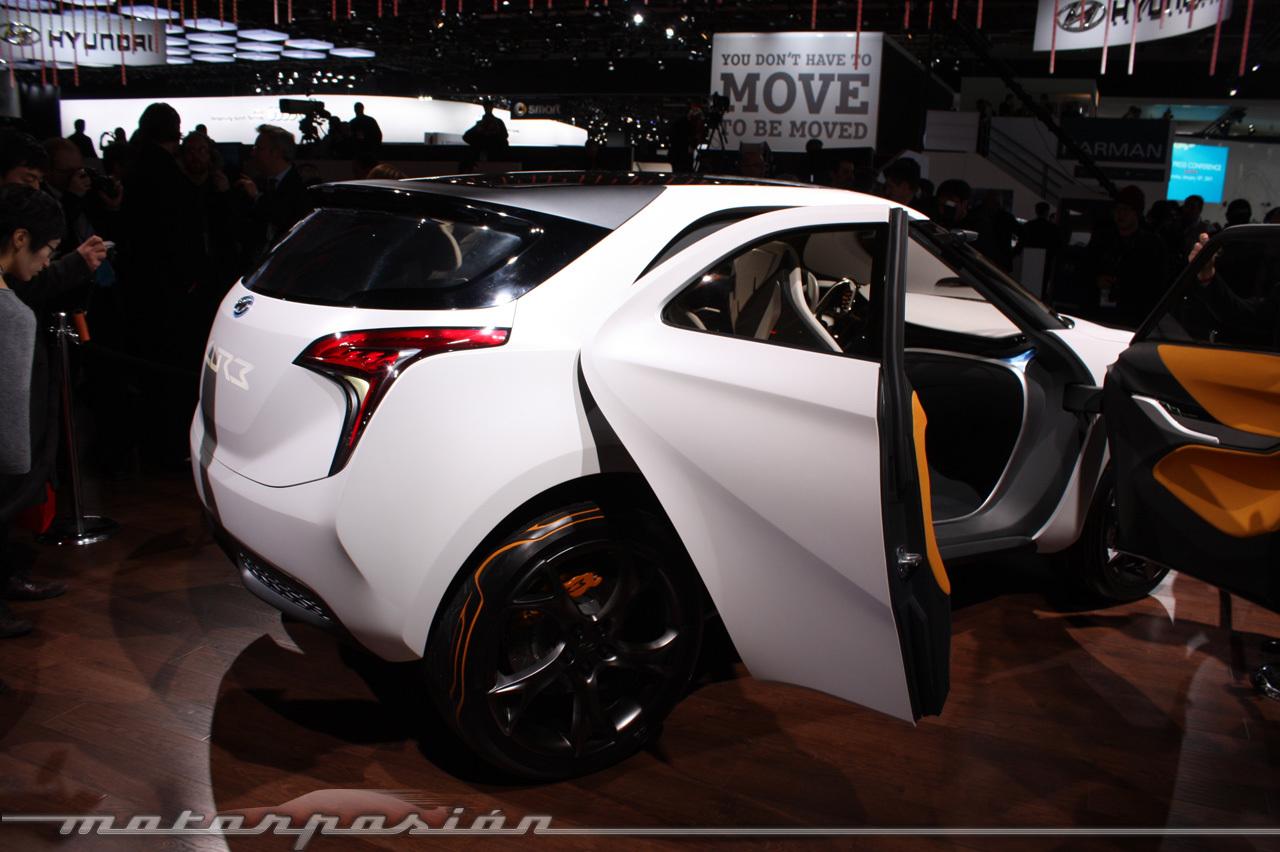 Foto de Hyundai CURB en el Salón de Detroit (13/29)