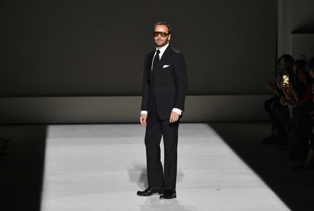 Tom Ford abre la semana de la moda de Nueva York con una paleta fresca y animal print