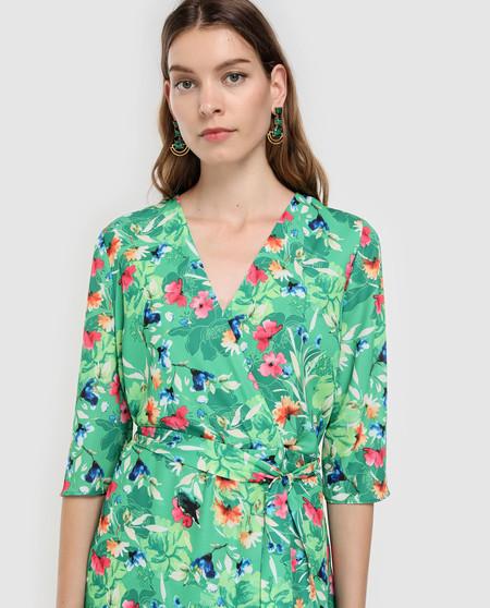 Este vestido Antea estilo kimono tiene un 71% de descuento en las segundas rebajas de El Corte Inglés