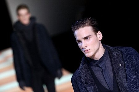 Emporio Armani Otoño-Invierno 2012/2013, Semana de la Moda de Milán