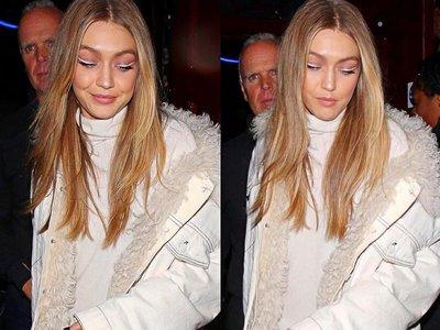 Gigi Hadid rompe moldes beauty de nuevo: ahora todas querremos el eyeliner blanco nuclear