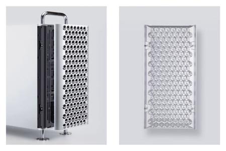 Esta funda lleva el llamativo diseño del Mac Pro a todos los ordenadores