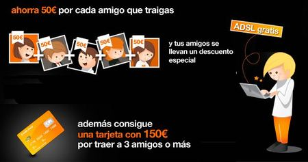 "Orange ""Invita y Ahorra"" y ahorra hasta ¡250 euros! en tus facturas"