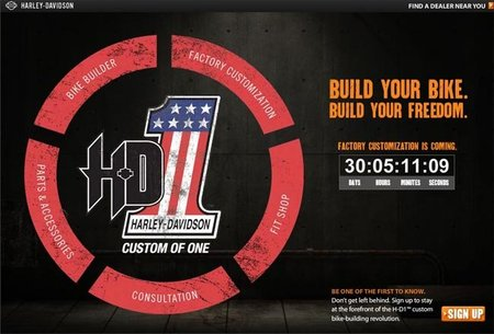 Harley Davidson iniciará un servicio de personalización para sus clientes