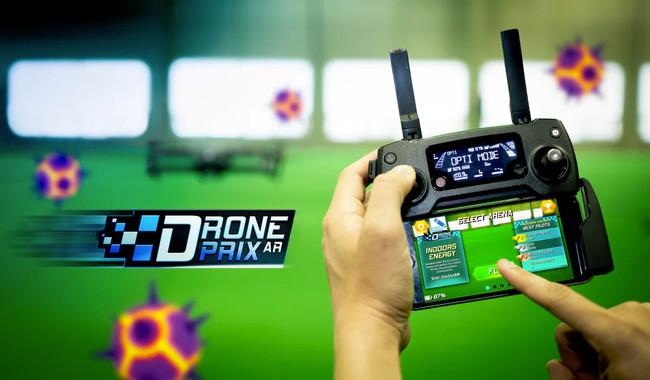 """Si tu entorno ya no te motiva para volar con tu dron, puedes """"transformarlo"""" con este juego de realidad aumentada"""