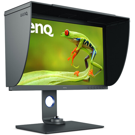 Benq Sw271c Right Angle With Hood