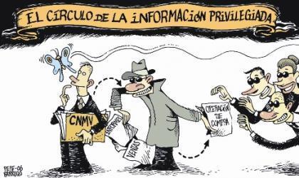 La información privilegiada se usa, cada vez más