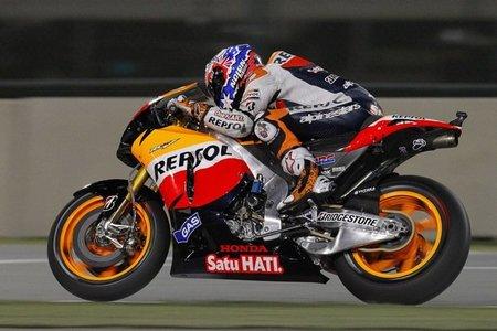 MotoGP Qatar 2011: Casey Stoner confirma y Jorge Lorenzo sorprende