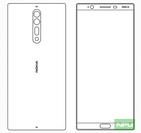 Nokia 8 Diseno