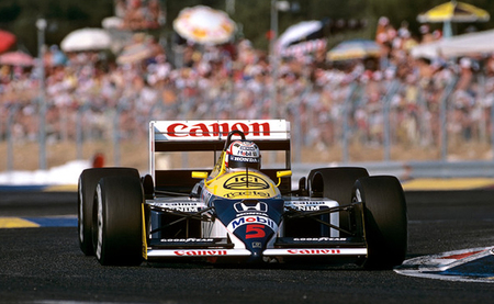 Nigel Mansell - Williams FW11 - 1987