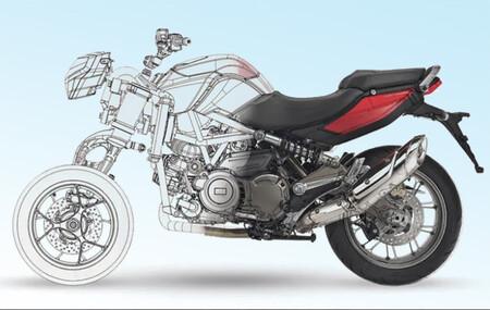Aprilia podría lanzar una moto de tres ruedas que haría frente a la Yamaha Niken, según estas patentes