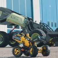 Volvo hizo una excavadora de juguete con LEGO: es tan buena que la han convertido en un vehículo eléctrico autónomo real