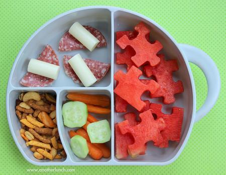 Lunch escolar para niños