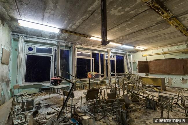 Alguien encendió las luces de Pripyat y fotografió su bella decadencia a 31 años de la catástrofe de Chernóbil