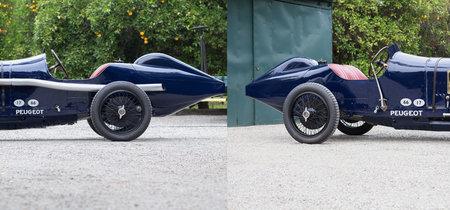 Sale a subasta este Peugeot L45 de 1913, el padre de los coches de carreras