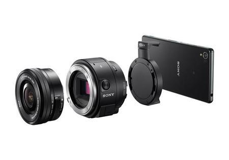 Sony QX30 y QX1, las nuevas lens-style de Sony para los smartphones
