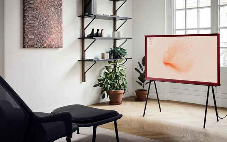 "SAMSUNG TV The Serif QLED 123 cm (49"") Samsung QE49LS01T con Inteligencia Artificial 4K, HDR 10+ y Smart TV"