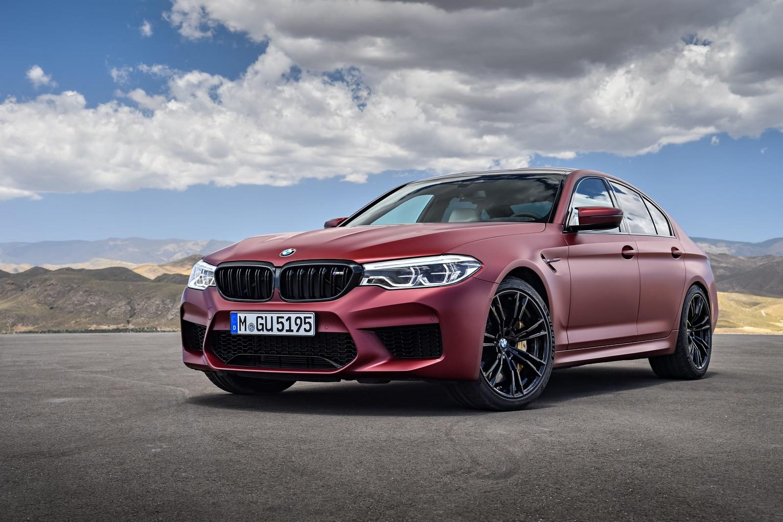 Foto de BMW M5 2018 (35/57)
