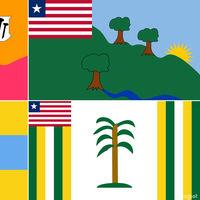 La rara historia tras las banderas de Liberia, las únicas que podrías haber hecho tú mismo en Paint