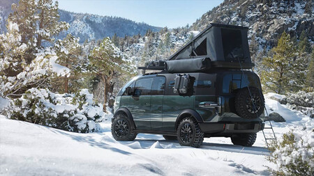 Canoo Pickup camper