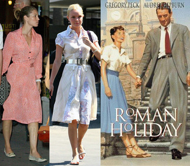 Nueva tendencia: vestido camisero con mangas y vuelo