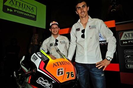 El Forward Racing Athinà presenta su candidatura en MotoGP y Moto2