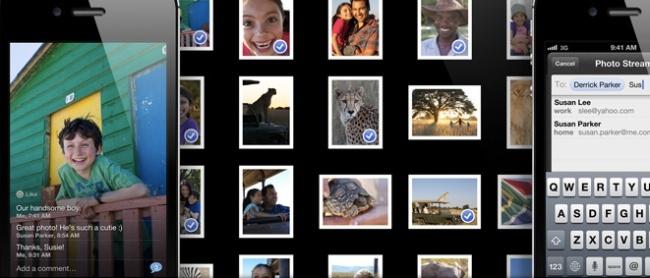fotos en streaming iphone ipad apple icloud
