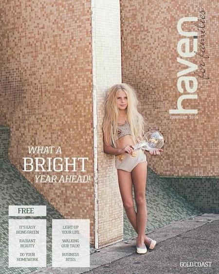 """""""Haven"""": la revista australiana familiar que ha desatado la polémica. ¿Qué connotación negativa tiene esta foto?"""
