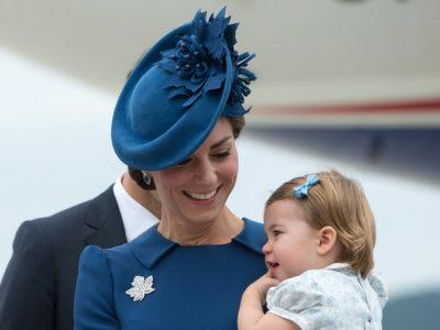 Comienza el desfile de looks de Kate Middleton en Canadá