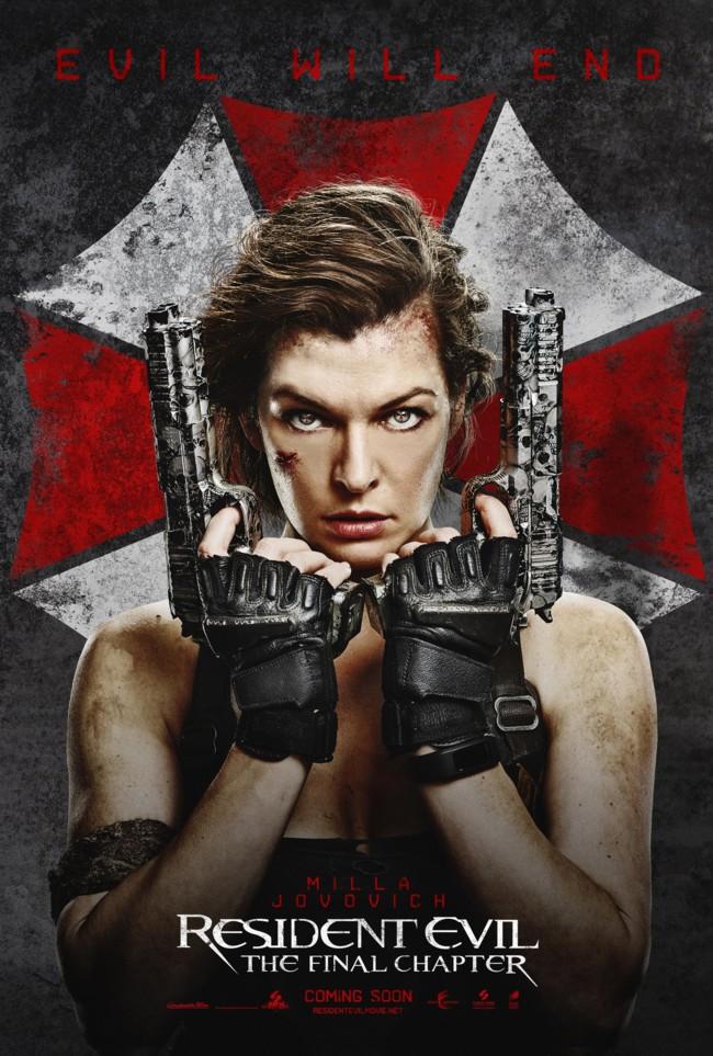 Milla Jovovich en Resident Evil 6