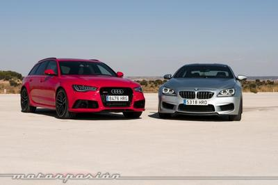 Audi RS 6 Avant contra BMW M6 Gran Coupé, comparativa (parte 2)
