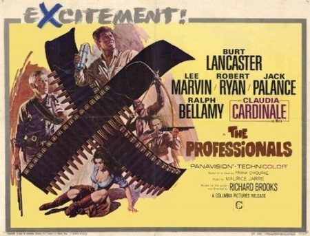 Western: 'Los profesionales' de Richard Brooks