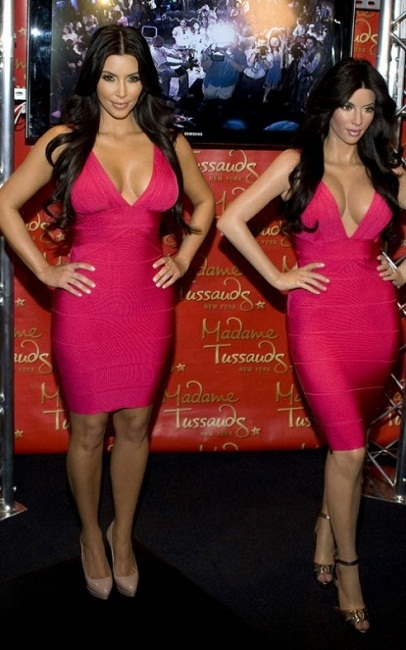 Kim Kardashian cera