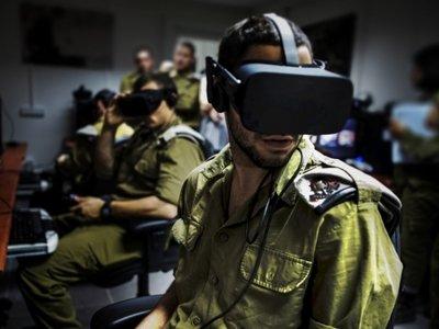 Así usa las Oculus Rift y las HTC Vive el ejército israelí
