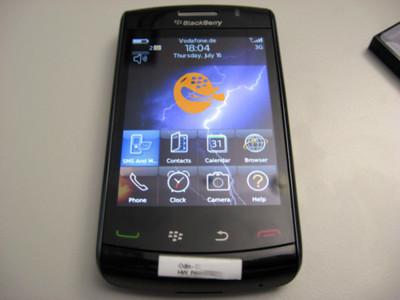 La Blackberry Storm 2 llevará conectividad WiFi