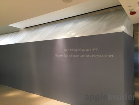 Ampliacion Apple Store Hong Kong 2