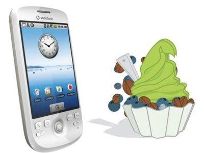 Froyo llega a las HTC Magic de Vodafone en Reino Unido