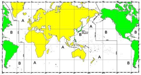 Iala World Distribution