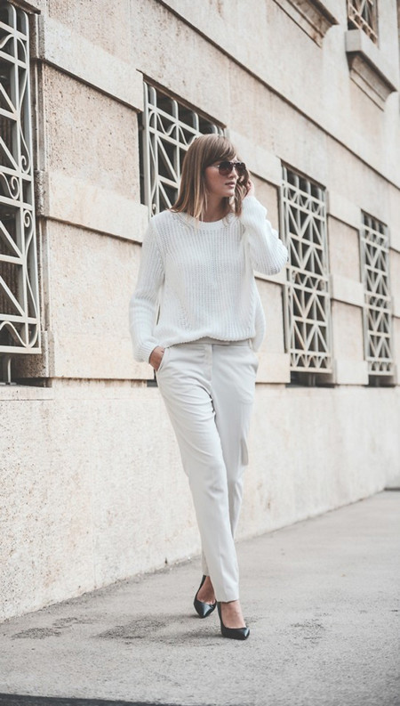 Total look blanco