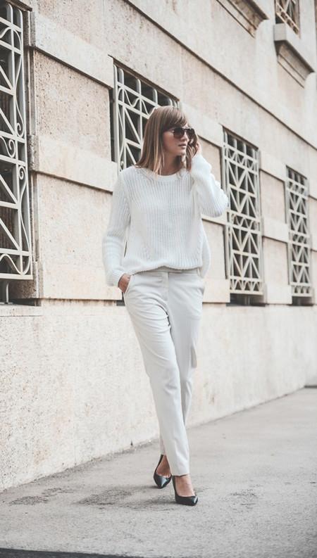Total look blanco