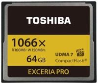 Toshiba piensa en el 4K en sus nuevas CompactFlash