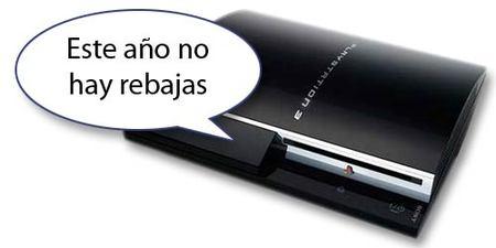 Sony confirma que no reducirá el precio de PS3