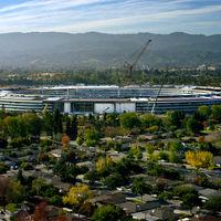 Así ha evolucionado el Apple Park en los últimos 12 meses