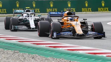 Sainz Bottas F1 2019 Espana